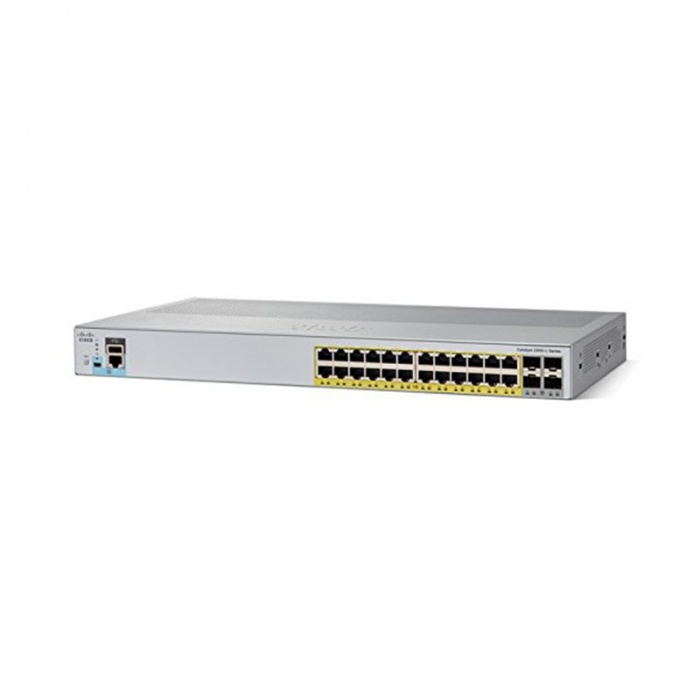 Коммутатор Cisco Catalyst WS-C2960L-24PQ-LL