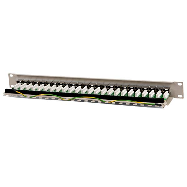 "Патч-панель 19"" 1U cat.5e 24 порта RJ45 FTP Hyperline_5515"